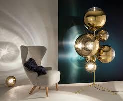 Tom Dixon Mirror Ball Pendant Light Mirror Ball Stand Chandelier Gold