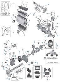 YJ_2.5L_Engine yj wrangler 2 5l 4 cylinder engine parts 4 wheel parts on jeep 2 5 engine diagram
