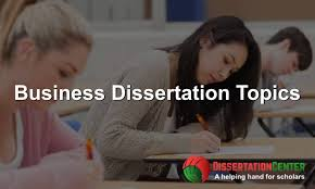 Business Dissertation - Learning Aid
