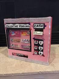 Vending Machine Valentine Box Amazing Valentine's Day Box Vending Machine Girl Boy Valentines Day