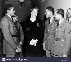 eleanor roosevelt greets african american troops roosevelt shortly eleanor roosevelt greets african american troops roosevelt shortly after united states entry into world war ii she would