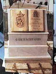 Resultado de imagen de Monumento a la Constitución de 1978
