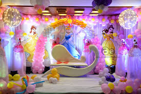 Princess Balloon Decoration Aicaevents India Barbie Theme Decorations By Aica Events
