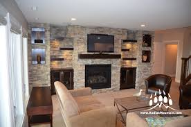 baby nursery likable stone feature wall ideas manufactured veneer design kodiak mountain fireplace designs