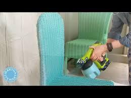painting wicker furnitureAsk Martha Spray Painting Wicker Chairs  Martha Stewart  YouTube