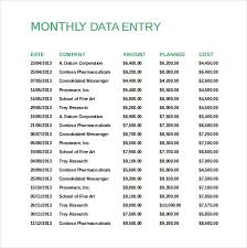 Monthly Report Template Word sales recording template Socbizco 53