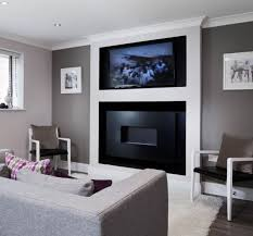hole in the wall wide screen fireline with recess and 50 plasma fireplace