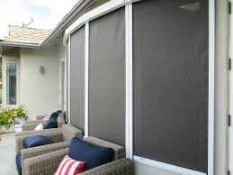 patio shades roll up blinds for porch coolaroo exterior shades