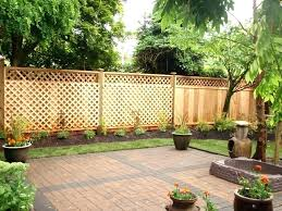 small fence ideas backyard fencing for remodel 11
