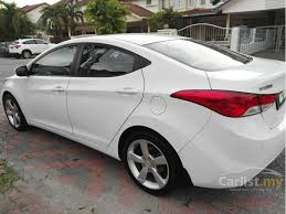 hyundai elantra 2013 white. 2013 Hyundai Elantra Premium Sedan Inside White Carlistmy