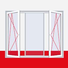 Fenster Chinchilla 3 Flg Dreh Kippfestdreh Kipp Kunststofffenster