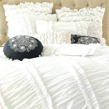 white ruched duvet cover white ruched duvet cover ruffled bedding set queen king by white ruched