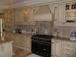 Retro Cherry Kitchen Decor Kitchen Cherry Cabinets Black And White Kitchen Wall Tiles Ideas