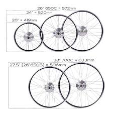26 Mountain Bike Size Chart Size A Bicycle Cross Trail Bicycle