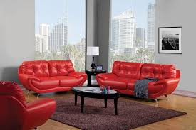 Living Room Sofa And Loveseat Sets Red Leather Living Room Furniture Set Living Room Design Ideas