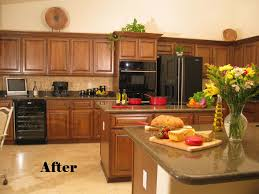 Refurbish Kitchen Cabinets Kitchen Cabinet Refinishing Ideas Miserv