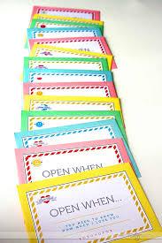 Open When Letters Chellas Common Cents