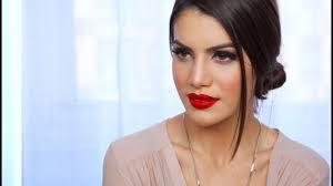 easy clic red lip makeup look makeup tutorials and beauty reviews camila coelho