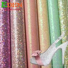 2019 sparkle sequins mesh glitter faux leather fabric for tv background exotic fancy glitter leather making shoes handbangs from windyboutique