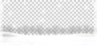 Black And White Brand Pattern Snowflake Border Trees Under