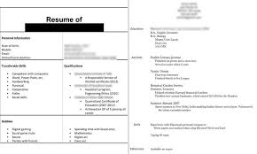 Dissecting The Good And Bad Resume In A Creative Field Emily