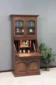 gorgeous amish executive deluxe secretary desk with hutch top desktop hutch for dorm 22 amish executive