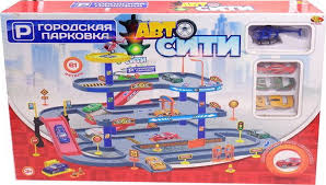 <b>ABtoys Парковка АвтоСити</b> PT-00861 — купить в интернет ...