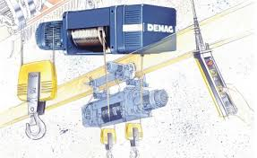 demag wire rope hoist • cranedocuments s blog demag dh monorail