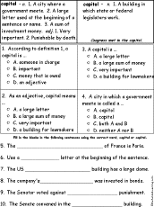 Contraction Chart Grammar List O Contractions Enchantedlearning Com