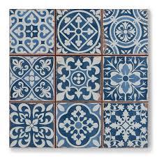 tapestry blue patterned tiles porcelain super light blue porcelain floor tile