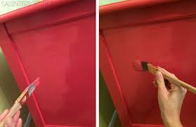 painted red furniture. DIY Tutorial: Tips + Tricks On How-To Successfully Paint Wood Furniture. Follow Painted Red Furniture A