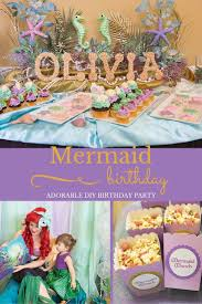 2 Year Birthday Ideas 830 Best Birthday Little Mermaid Images On Pinterest