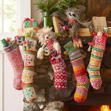 Our candy stocking comes with 2 handmade gloss; Heirloom Candy Cane Stocking Sundance Catalog