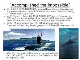 「1954 USS Nautilus, SSN-571」の画像検索結果