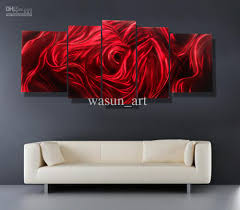 5 panel red rose modern contemporary red abstract wall art painting metal wall art sculpture wall on metal wall art abstract decor contemporary modern sculpture hanging with wall art best ideas red abstract wall art red and white art black