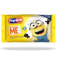   Popsicle®  <b>Despicable Me Minion</b>™ <b>Ice</b> Pop