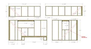 Our Tiny House Floor Plans  Construction PDF   SketchUp    The        Plan Tiny House Wall Framing