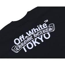 Chrome Hearts Off White Tokyo T Shirt Black Chrome Hertz Off White Tokyo Collaboration T Shirt Short Sleeves Black