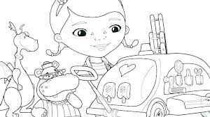 Inspirational Doc Mcstuffins Coloring Pages Pdf For Doc Coloring