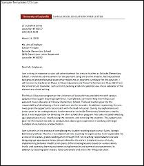 Paraprofessional Cover Letter Paraprofessional Cover Letter Special