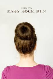 Sock Bun Hair Style 50 simple hairstyles for onthego moms 7649 by wearticles.com