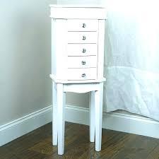 hives and honey jewelry armoire chelsea landry walnut alexa century white