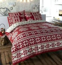 king size flannel duvet cover red flannelette quilt sets for decorations 0 canada