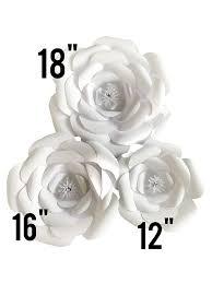 Paper Flower Decor Amazon Com Large Paper Flower Petal Kit White 72 Piece Pack