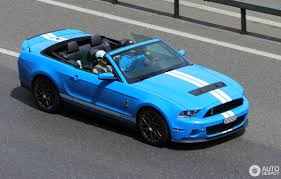 Ford Mustang Shelby GT500 Convertible 2010 - 17 February 2017 ...
