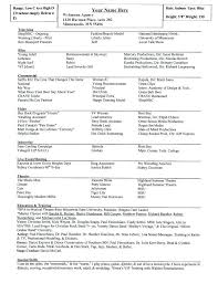 List Of Special Skills For Acting Resume Airexpresscarrier Com