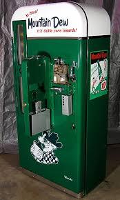 Vintage Mountain Dew Vending Machine Fascinating Vending Machine Mountain Dew Pinterest Vending Machine