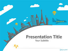 World Tour Powerpoint Template Download Free Powerpoint Ppt