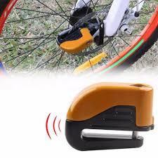 Electron Bicycle Lights Us 13 92 15 Off Bicycle Bike Mini Electron Alarm Disc Brakes Lock Mountain Bike Road Racing Bike Anti Theft Security Accessories In Bicycle Lock