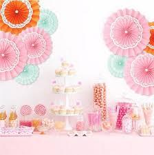 ecorative wedding paper crafts 20 25 30cm flower origami paper fan diy wedding birthday party decorations supplies kids best wedding decor best wedding